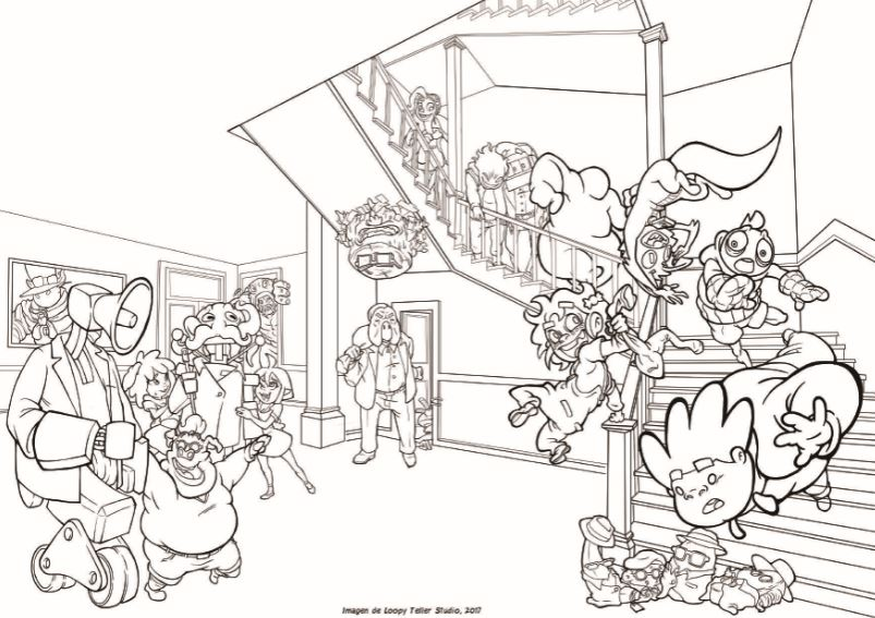 Dibuixos per al confinament